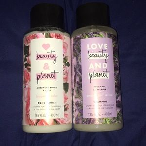 🌸New love beauty and planet shampoo & conditioner